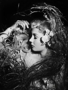 Ophelia in Laurence Olivier's production of Hamlet