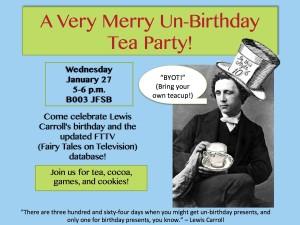 Un-Birthday Party Advertisement