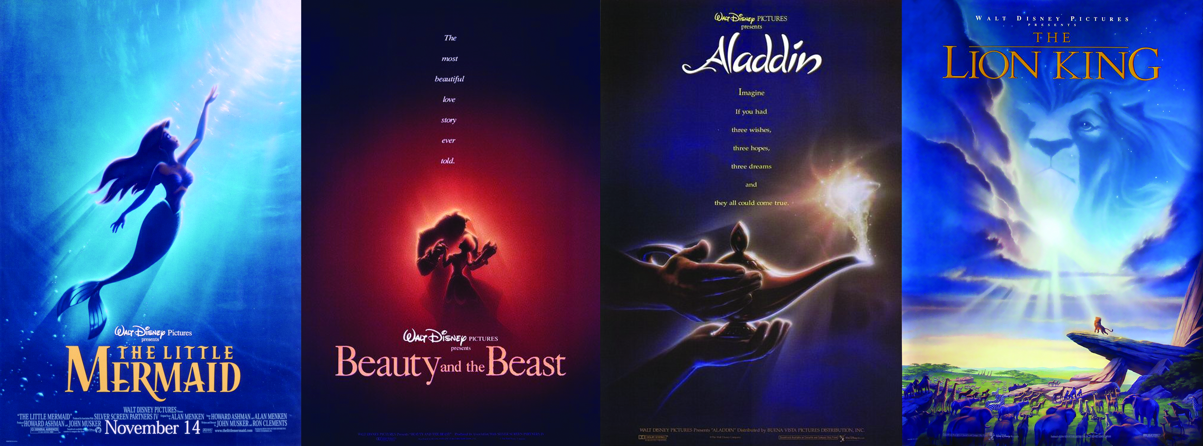 Disney_Renassanse_First_Film's_Collage