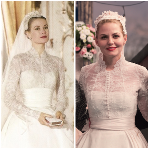 Grace Kelly (left) and Emma Swan (right)