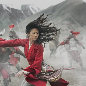 live action Mulan fighting